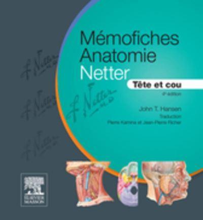 Mémofiches Anatomie Netter - Tête et cou - 9782294741739 - 15,99 €