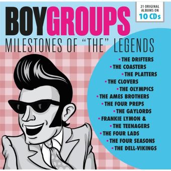 Milestones of The Legends Boy Groups