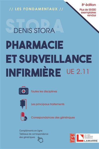 Pharmacie et surveillance infirmière, UE 2.11 - Les familles de médicaments - Toutes les disciplines - Correspondances des génér