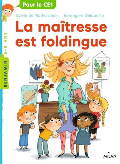 La maîtresse, Tome 01 - La maîtresse est foldingue - 9782408000509 - 3,99 €