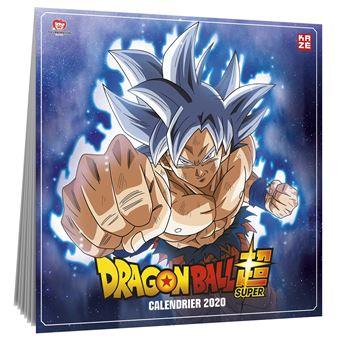 Achat Calendrier 2020.Dragon Ball Super Calendrier 2020