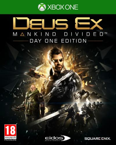 Deus Ex Mankind Divided Xbox One - Xbox One