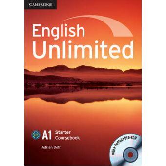 ENGLISH UNLIMITED - STARTER - COURSEBOOK WITH E-PORTFOLIO