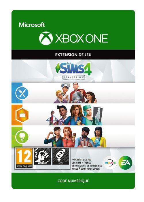 Code de téléchargement Les Sims 4 : Au travail + Au restaurant + En cuisine  Xbox One