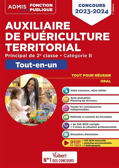 Concours Auxiliaire de puériculture territorial