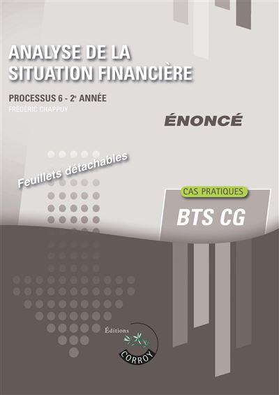 Analyse de la situation financiere - enonce