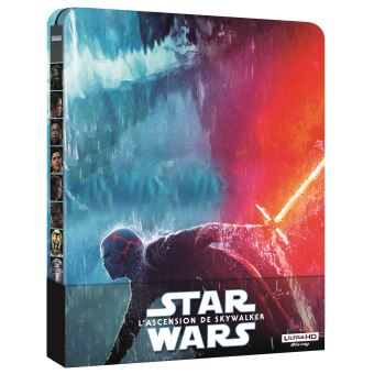 Star WarsStar Wars IX: The Rise Of Skywalker-BIL-BLURAY 4K STEELBOOK