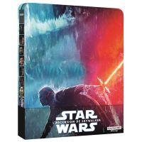 Star Wars L'Ascension de Skywalker Steelbook Blu-ray 4K Ultra HD