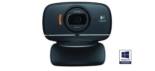 Capteur jusqu´à 8 mégapixels, microphone intégré, résolution vidéo 1280 x 720 pixels, compatible PC Connexion sur port USB