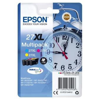 Cartouche Epson Multipack 27 XL Cyan, Magenta, Jaune