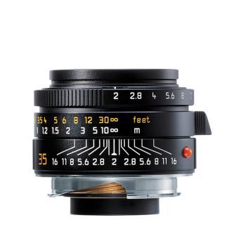 Objectif hybride Leica Summicron M 35 mm F/2 ASPH. Noir
