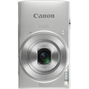 Canon IXUS 190 - Appareil photo numérique - compact - 20.0 MP - 720 p / 25 pi/s - 10x zoom optique - Wi-Fi, NFC - argenté(e)