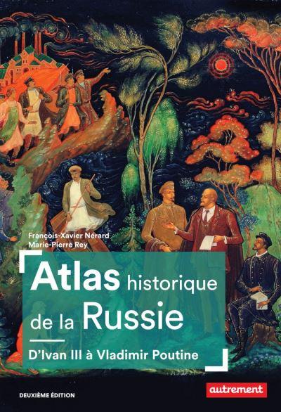 Atlas historique de la Russie - 9782746753822 - 15,99 €