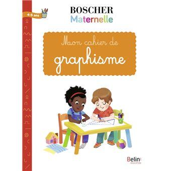 Super Méthode Boscher : Cahier de graphisme - broché - Gérard Sansey  KI01