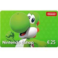 Carte Cadeau Nintendo Fnac.Cartes Cadeaux Nintendo Switch Achat Contenus