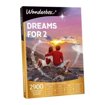 Coffret cadeau Wonderbox Dreams for 2