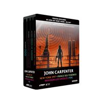 Coffret Carpenter 4 Films Steelbook Edition Limitée Blu-ray 4K Ultra HD