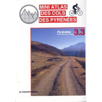 Mini atlas des cols des Pyrénées