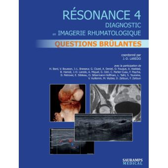 Resonance,4:questions brulantes en imagerie osteo-articulair