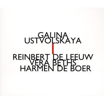 Galina Ustvolskaya, Reinbert de Leeuw, Vera Beths, Harmen de Boer
