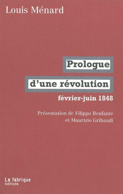 Prologue d'une révolution, février-juin 1848