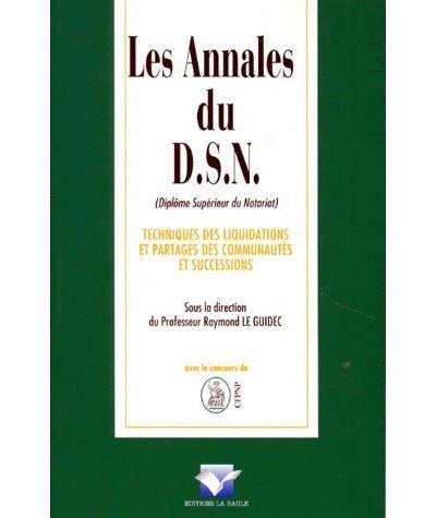 Annales du dsn