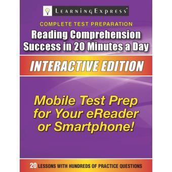About Reading Comprehension Success in 20 Minutes a Day (6th Edition)