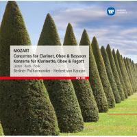 Concertos pour clarinette, hautbois et basson