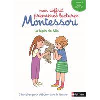Le lapin de mia - Mon coffret premières lectures Montessori