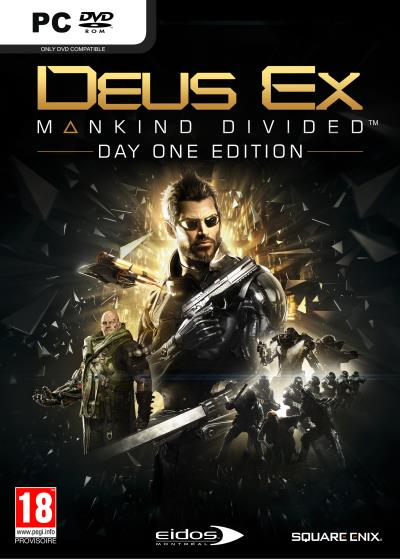 Deus Ex Mankind Divided Day One Edition PC 5 Incroyable Lampe à Poser Ampoule Sjd8