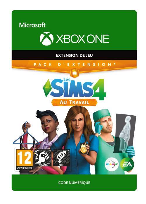 Code de téléchargement Les Sims 4: Au travail Xbox One