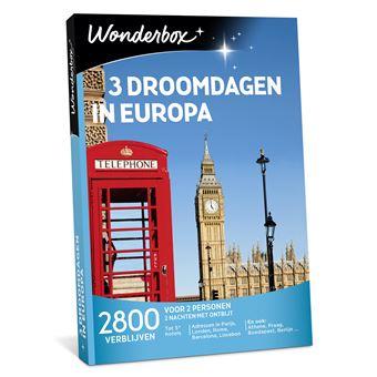 Wonderbox NL 3 droomdagen in Europa