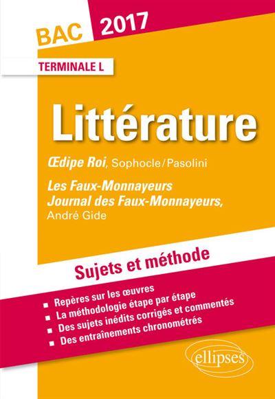 Les Faux Monnayeurs Gide, Oedipe Roi Sophocle, Bac Term Littéraire