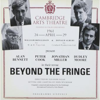 Beyond the fringe live at thecambridge arts theatre april61