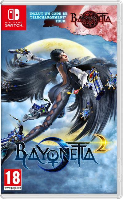 Bayonetta 2 Nintendo Switch (+ Bayonetta 1 code de téléchargement)