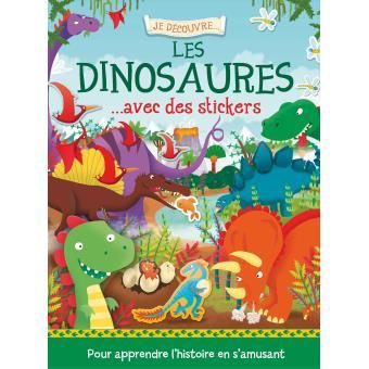 Je découvre les dinosaures avec des stickers