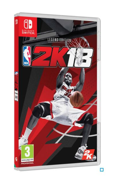 NBA 2K18 Legend Edition Nintendo Switch
