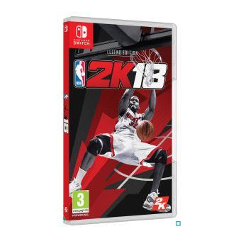 NBA 2K18 Legend Edition Nintendo Switch