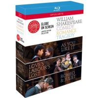 Coffret Shakespeare : Comedy, Romance and Tragedy Blu-ray