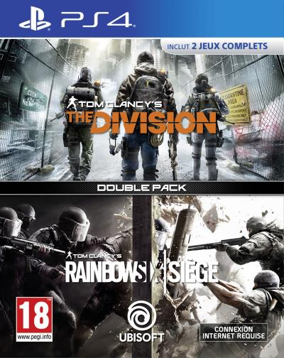 Double Pack Tom Clancy's Rainbow Six Siege + Tom Clancy's The Division PS4