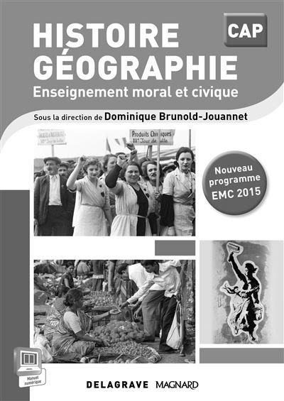Histoire-géographie, EMC CAP