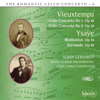 The Romantic Cello Concerto Vol. 6