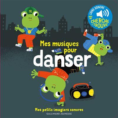 Mes musiques pour danser, Livre sonore