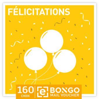 Bongo FR Select Giftcard Felicitations