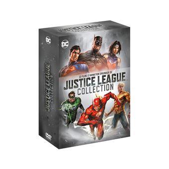 Justice leagueCoffret Justice League Collection DVD