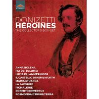 Donizetti Heroines The Collector's Coffret DVD