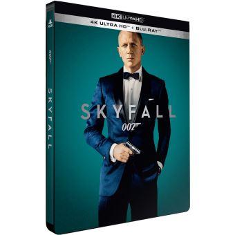James BondSkyfall Steelbook Edition Limitée Blu-ray 4K Ultra HD
