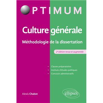 Dissertation sur la culture gnrale