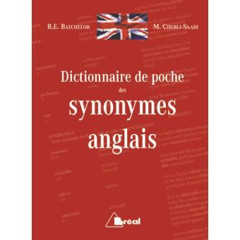 dictionnaire anglais synonyme