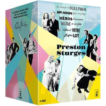 Coffret Sturges 6 Films DVD
